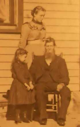 Anders Erickson Holm  abt 1901 Hancock Township, Carver County, Minnesota