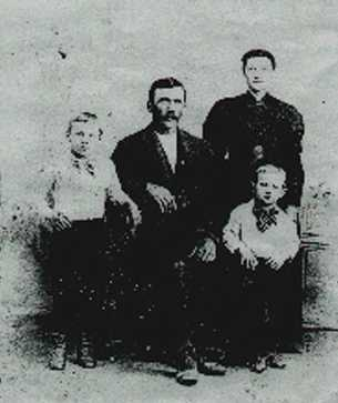 1885 Julius Nicoli Family Homesteading Claim Proved