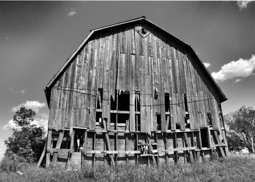 Abandoned Barn Photo - Clarence Holm 7/29/2015