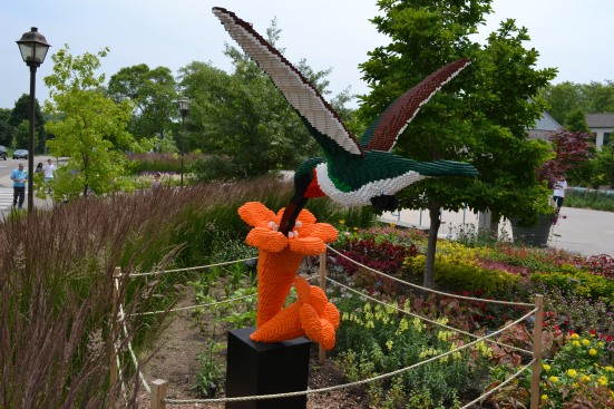 Hummingbird Minnesota Arboretum Lego Exhibit Photo - Clarence Holm 7/5/2015