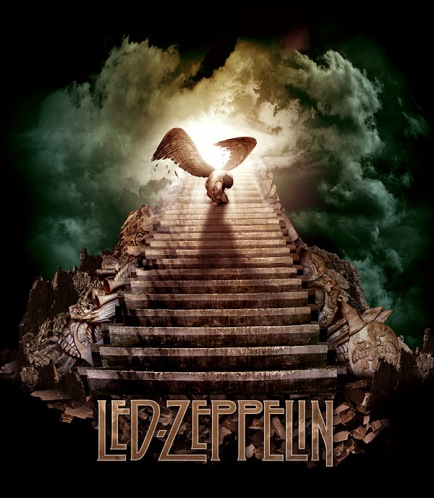Led Zeppelin Album Art