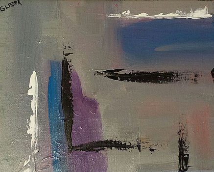 """Shades of Grey"" Original Acrylic Artwork By Stuart Glazer www.stuartglazer.com"