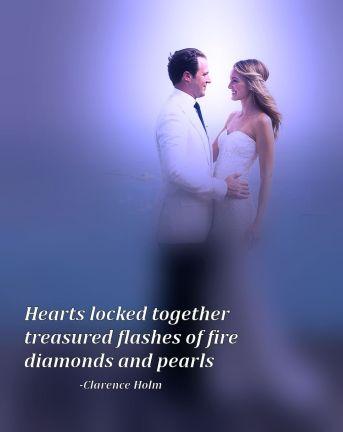 diamond pearls