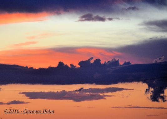 Prairie Sunset ©2016 - Clarence Holm