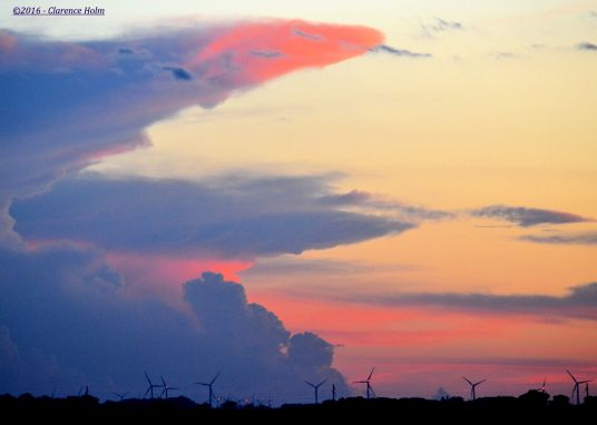 Windmills On the Horizon ©2016 - Clarence Holm