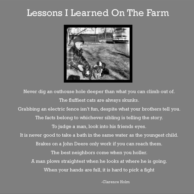 Learned on Farm