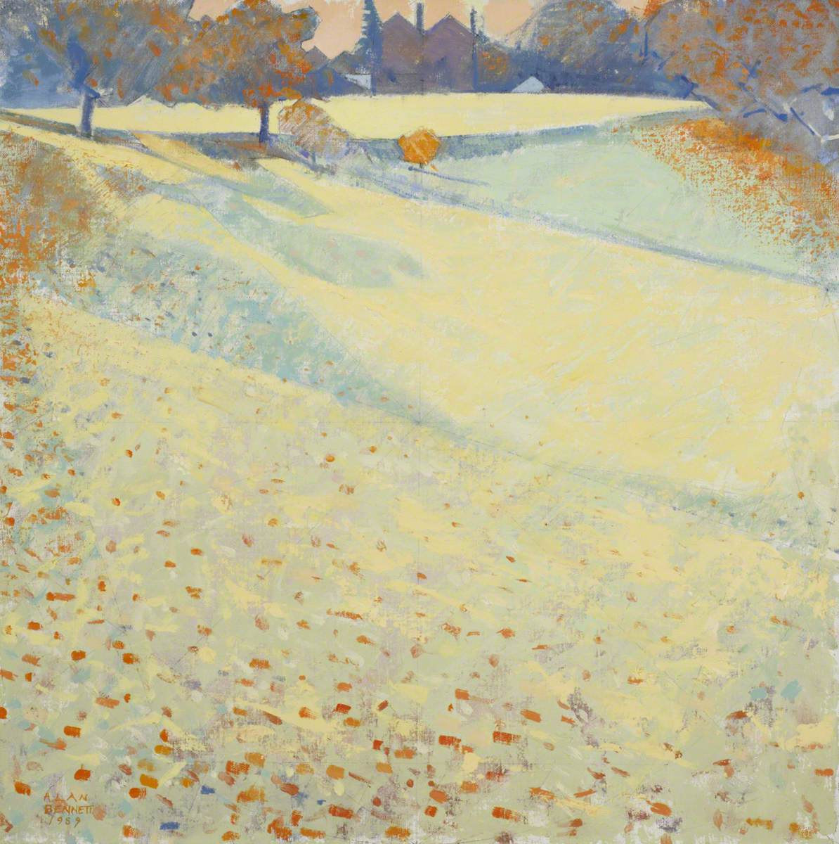 Bennett, Alan, b.1945; First Autumn Frost