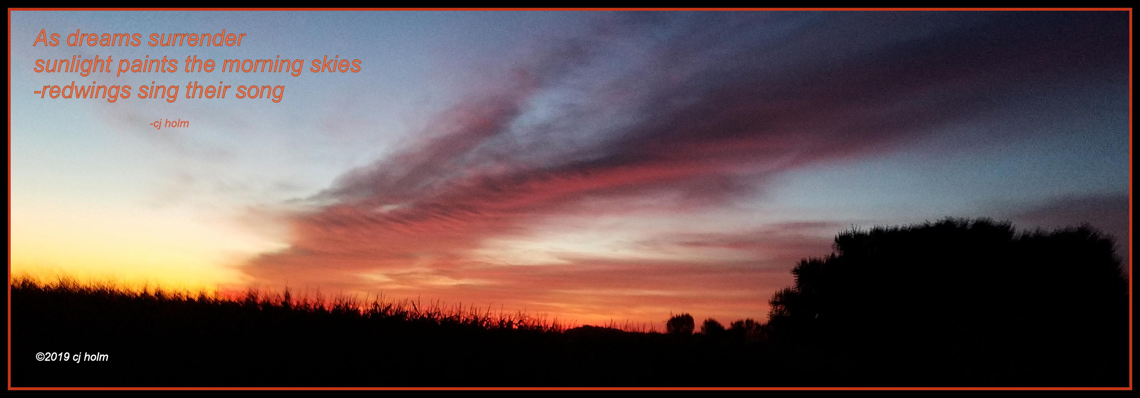 sunrise 8 30 19